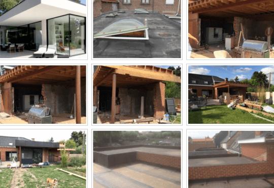 Dakwerken, Algemene dakwerken, Platte daken, Hellende daken, Metselwerken, Verhardingen, Klinkerwerken
